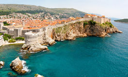 Murs de Dubrovnik photos libres de droits