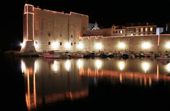 Murs de Dubrovnik Image libre de droits