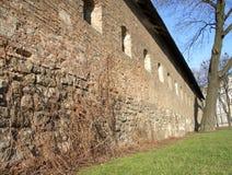 Murs de forteresse Photo libre de droits