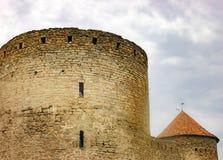 Murs de forteresse Akkerman en Ukraine Photographie stock