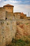 Murs de forteresse Akkerman en Ukraine Photos libres de droits