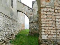 Murs de forteresse de Sighisoara image stock