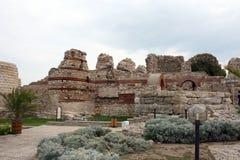 Murs de fortification Images libres de droits