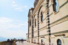 Murs de Garde de La de Notre-Dame De hauts Photographie stock