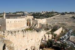 Murs de la vieille ville Image libre de droits