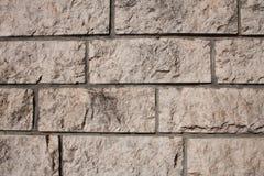 Murs de maçonnerie de pierre image stock
