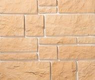 Murs de maçonnerie de pierre et de brique Photographie stock