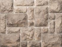 Murs de maçonnerie de pierre et de brique Photos libres de droits
