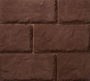 Murs de maçonnerie de pierre et de brique Image stock