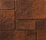 Murs de maçonnerie de pierre et de brique Image libre de droits