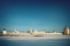 Murs de monastère Photos libres de droits