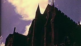 Murs de Mont Saint-Michel clips vidéos