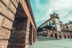 Murs de Palerme image libre de droits