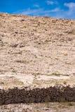 Murs de pierres sèches, île de PAG Image libre de droits