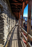 Murs de Tallin Photos stock