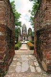 Murs de temple Photographie stock libre de droits