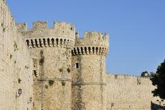 Murs de ville Photographie stock libre de droits