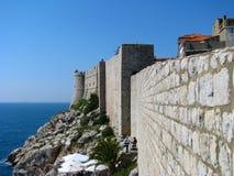 Murs de ville Images stock