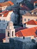 Murs de ville de Dubrovnik photographie stock