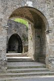 Murs de ville de Volterra image stock