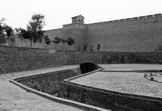 Murs de ville et portes de Pingyao, Chine Photo stock