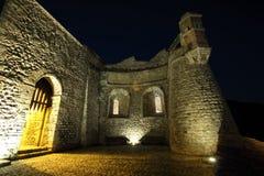 Murs de Villefranche de Conflent Images stock