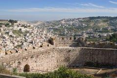 Murs derrière des murs - Jérusalem Photographie stock