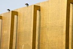 Murs des constructions. Photo stock