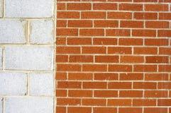 Murs divisés Photos libres de droits