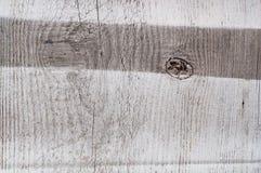 Murs en bois blancs peints texturisés Photographie stock