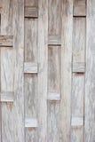 Murs en bois de vieilles maisons thaïlandaises Images stock