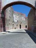 Murs en pierre Image libre de droits