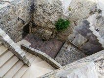 Murs en pierre Images stock