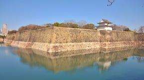 Murs en pierre, citadelle et fossé Image stock