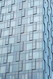 Murs en verre d'architecture moderne d'hôtel Photographie stock libre de droits
