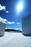 Murs et ciel images libres de droits