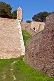 Murs et tours Photographie stock