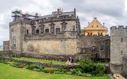 Murs extérieurs de Stirling Castle Photos stock