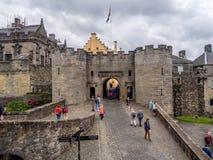 Murs extérieurs de Stirling Castle Images stock
