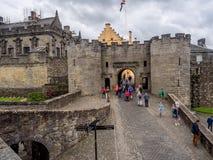 Murs extérieurs de Stirling Castle Photo libre de droits