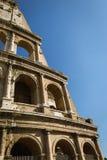 Murs externes de Colosseum Images libres de droits