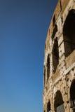 Murs externes de Colosseum Photographie stock libre de droits