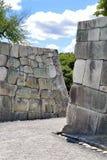 Murs japonais de château Images libres de droits