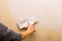 Murs remplissants Image stock