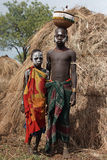 Mursi,埃塞俄比亚,非洲 库存图片