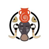 Mursi Tribe Sign Stock Images