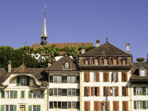 Murten old town, Switzerland Royalty Free Stock Photo