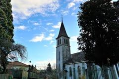 Murten slott i Schweiz royaltyfria foton