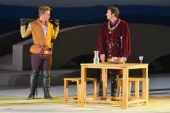 1476 - Murtenschlacht - Kampf von Morat - Kampf von Murten Stockfotografie