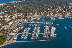 Murter aerial Stock Photos
